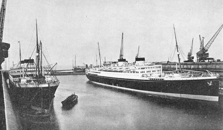 The Georgic and the Britannic