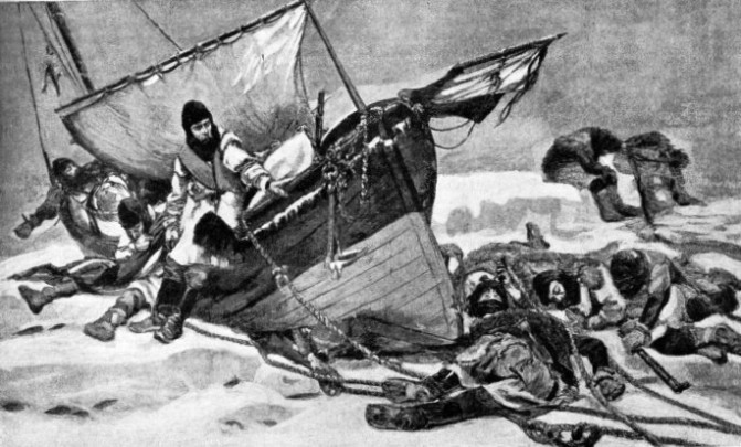 An impression of the last of the Franklin expedition