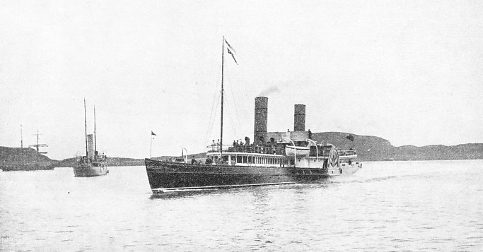 The Iona, a famous Clyde paddle steamer