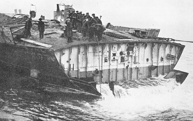 "The after-end of HMS ""Lion"""