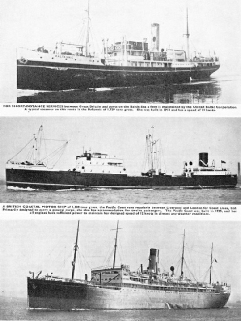 "British shipping - the ""Baltannic"", ""Pacific Coast"" and the ""Staffordshire"""