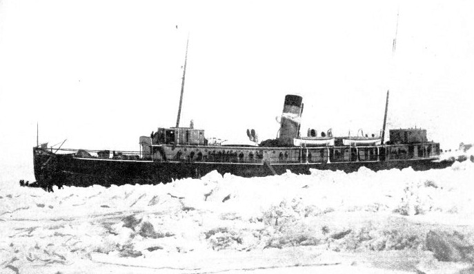 The ice-breaker Minto built for the Canadian Government