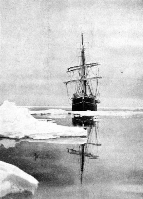 THE AURORA, the supporting ship of Shackleton's expedition