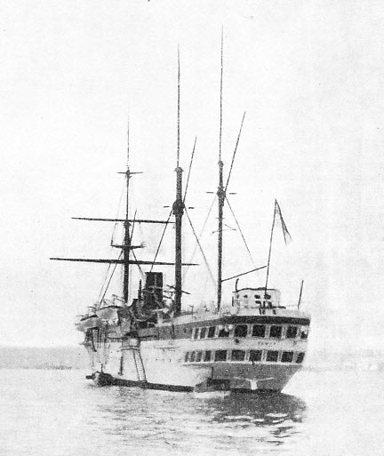 the Jumna was one of the five rigged screw transports that maintained the regular trooping services to India for many years