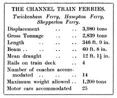 Dover Dunkirk channel train ferries