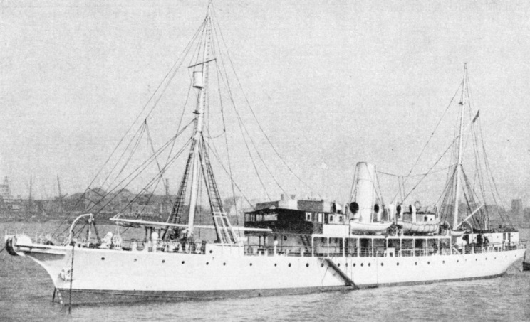 A POST OFFICE CABLE SHIP, the Monarch