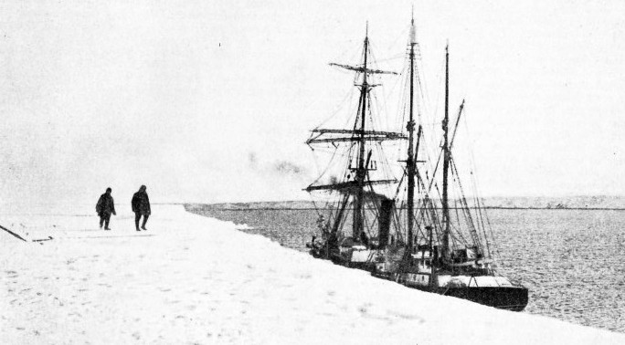 The Nimrod used by Sir Erenest Shackleton in his 1907-1909 expedition to the Antarctic