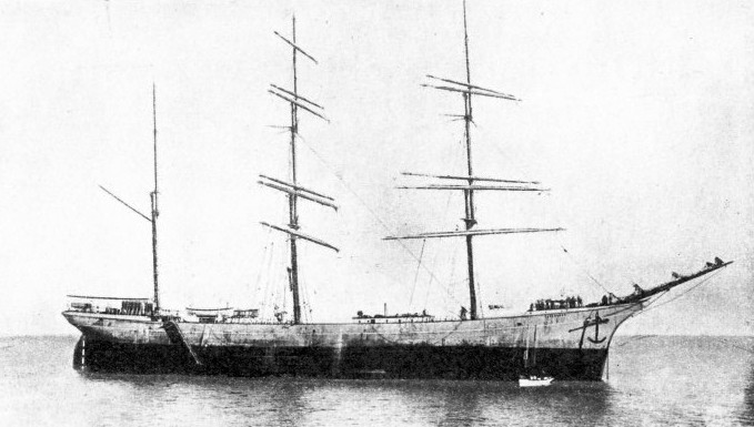 THE INVERNESS a modern three-masted barque