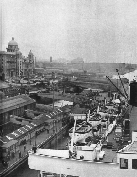 The Landing Stage, Liverpool Docks