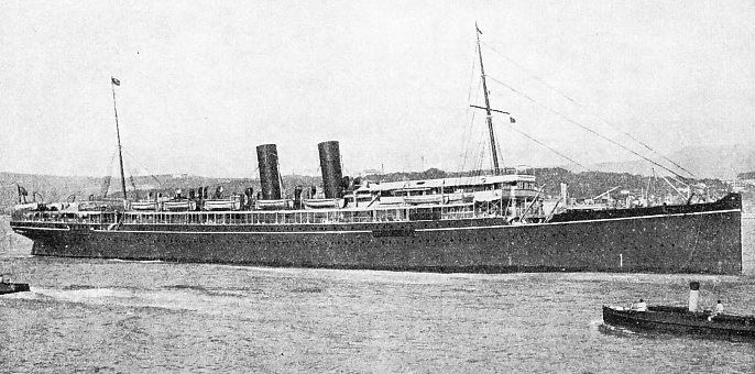 On May 20 1922 the liner Egypt, collided with the cargo vessel Seine, in fog off the French coast