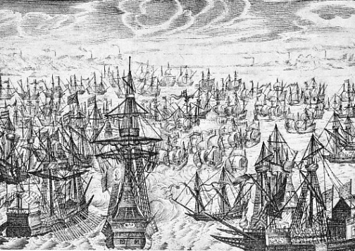 The engagement off Portland 1588