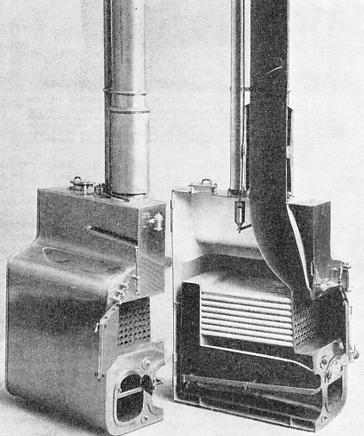 ONE OF THE TUBULAR BOILERS fitted in H.M.S. Janus in 1844