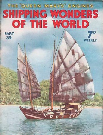 A Chinese Junk shipping wonders of the world
