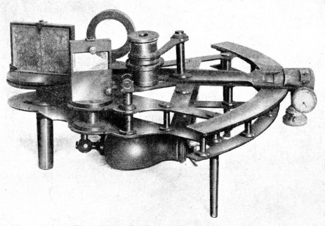 This sextant belonged to Frederick Hornby, mate of the Terror