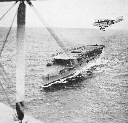 H.M.S. Furious was the first genuine floating aerodrome