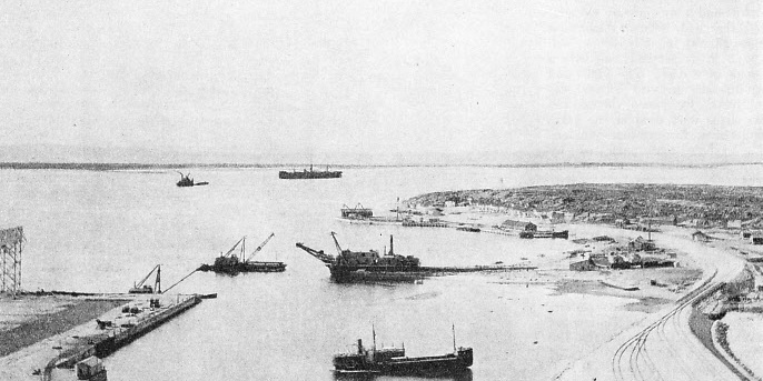 THE HARBOUR OF CHURCHILL as it was in 1933