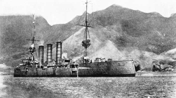 The German cruiser Dresden