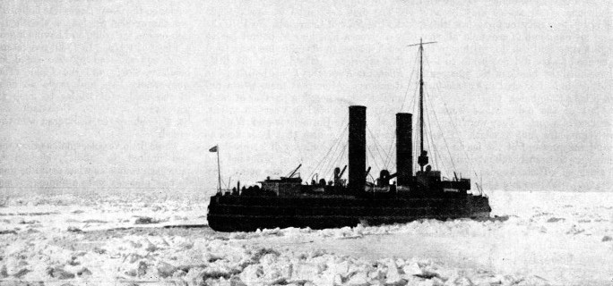 The ice-breaker Ermack in the Baltic