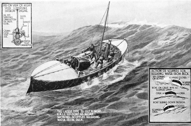 THE MODERN LIFEBOAT is notable for her ability to stand up to heavy seas