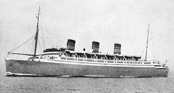 The Monarch of Bermuda was built at Newcastle-on-Tyne in 1931
