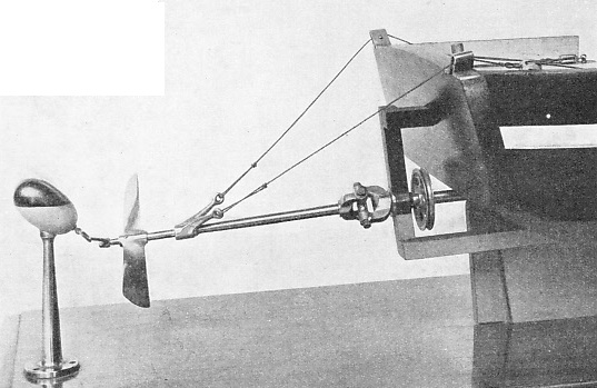 PATENTED IN 1800, Edward Shorter's screw propeller was described as a perpetual sculling machine