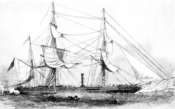 The PHOENIX was one of several ships sent to search for the Franklin expedition