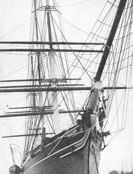 The Cutty Sark carried the Red Ensign with honour and distinction until 1895