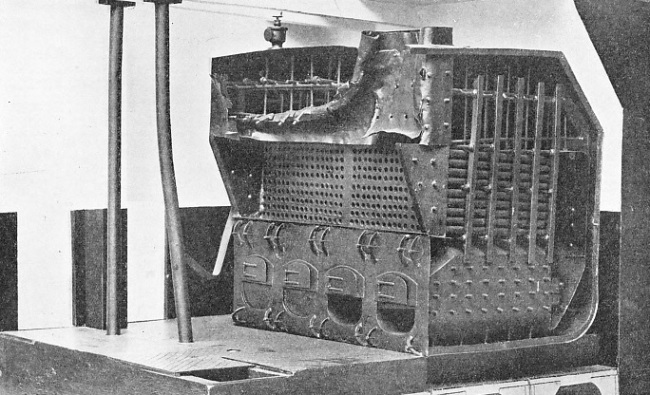 THE BURST BOILER of H.M.S. Thunderer
