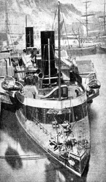 THE BESSEMER had a saloon which was not fixed to the hull but was allowed to swing free
