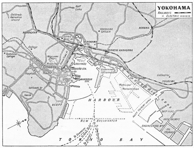 A PLAN of the city and port of Yokohama