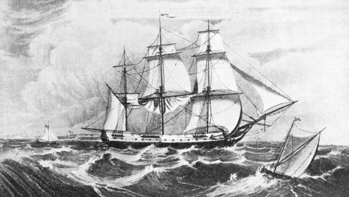 the True Briton was one of the famous vessels of the East India Company