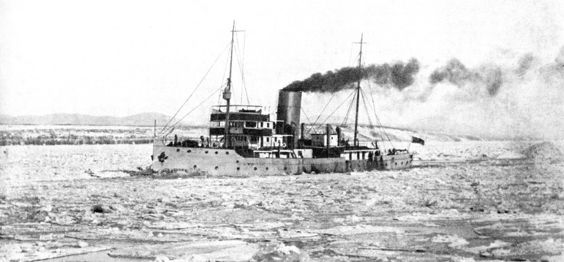 The Canadian Government ice-breaker Samuel