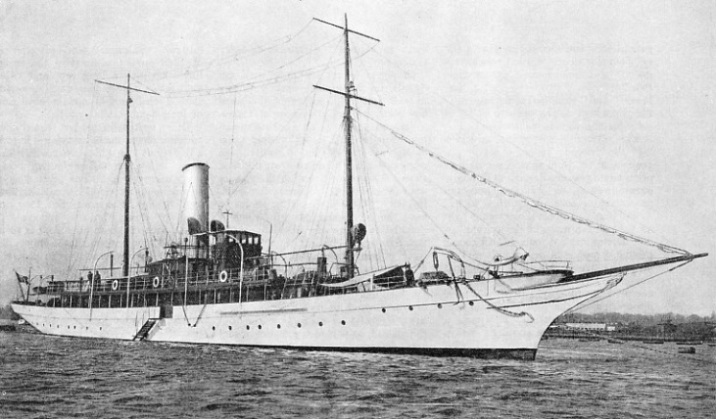 "The yacht ""Elettra"""