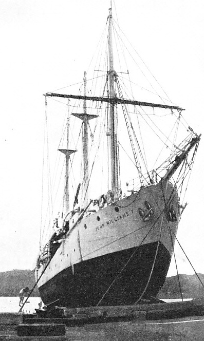 IN SERVICE IN 1936, the fifth John Williams was built in 1930