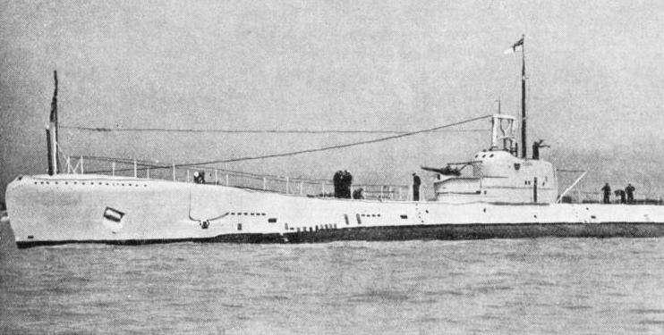 """THAMES"" CLASS SUBMARINE. Severn was completed by Vickers-Armstrong in 1934"