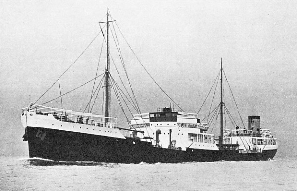 The Anadara, a modern oil tanker