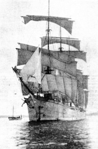 The Lawhill is a four-masted barque